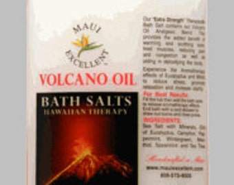 Volcano Oil® Essential Oil Bath Salts