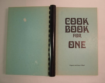 Cook Book for One - Spiral Bound 1976