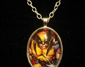 Marvel Wolverine X-Men Pendant