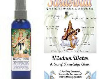 SARASWATI WISDOM Water by Gypsy Goddess