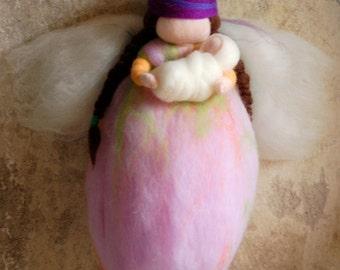 Fairy birth, Waldorf inspired fairytale wool