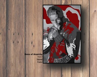 Sons Of Anarchy Poster Design 11x17 Cardstock Ready To Be