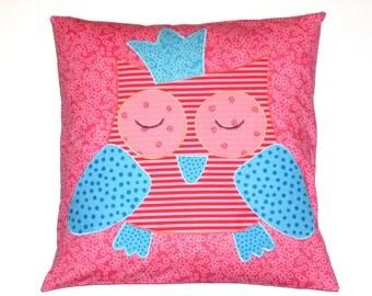 Kids pillows owl, Cushion cover, cushion