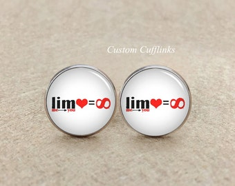 infinity cufflinks etsy. Black Bedroom Furniture Sets. Home Design Ideas