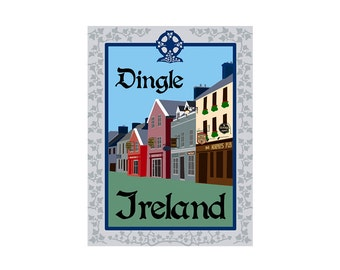 Giclee Print: Dingle Ireland
