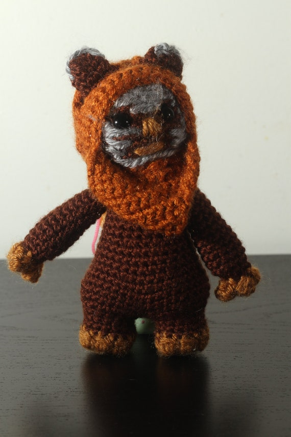 Ewok Crochet Amigurumi : Handmade Amigurumi Crochet Stuffed Ewok