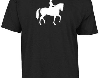 Dressage silhouette t-shirt