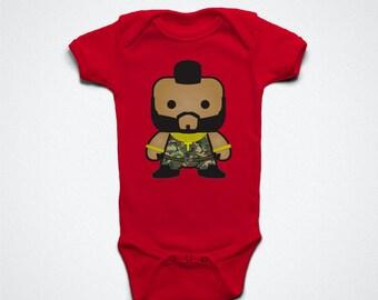 I pity the fool -  Infant Bodysuit - Baby Shower Gift - Mr. T Shirt - Baby Clothing