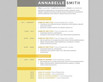 Resume & Cover Letter Template Makeup Artist Template