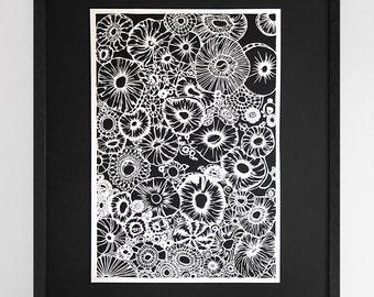Wall Art Framed paper wall art | etsy