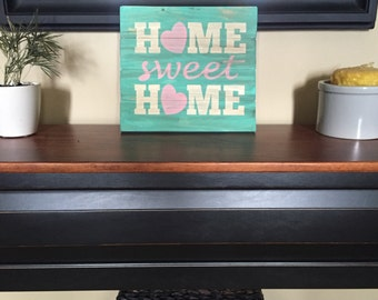 Home Sweet Home Wood Sign Home Decor