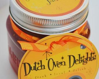 Strubarb Vanilla Jam (Strawberry Rhubarb Vanilla)