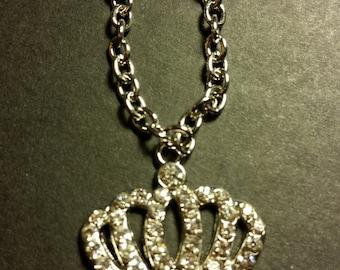 Fancy Princess Crown Necklace