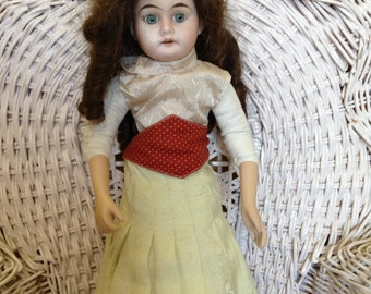 Antique Bisque Doll 1880