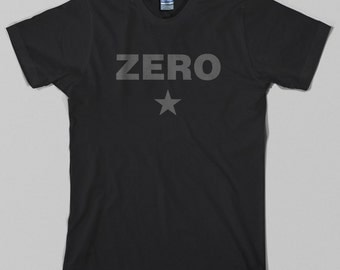 Zero T Shirt - star, billy corgan, smashing pumpkins, grunge rock, 90s - Graphic Tee, All Sizes & Colors