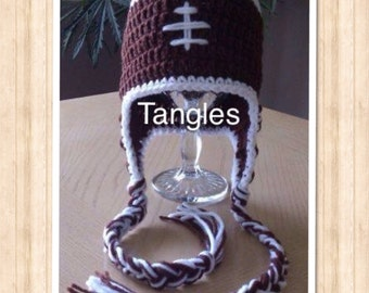 Crochet Baby Football Hat * Made to Order