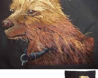 Dog Needle Painting