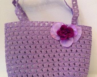 Purple Easter Purse