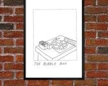 Badly Drawn Bubble Boy - Poster - Seinfeld