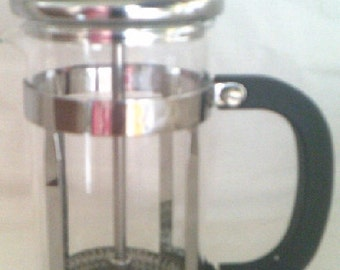 Coffee / Tea Plunger Pyrex 1 to 2 cups