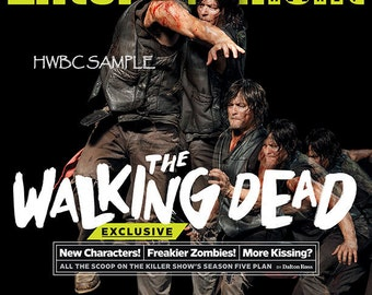 The Walking Dead  Entertainment Weekly collectors cover . sept. 5th 2014 no labels daryl dixon