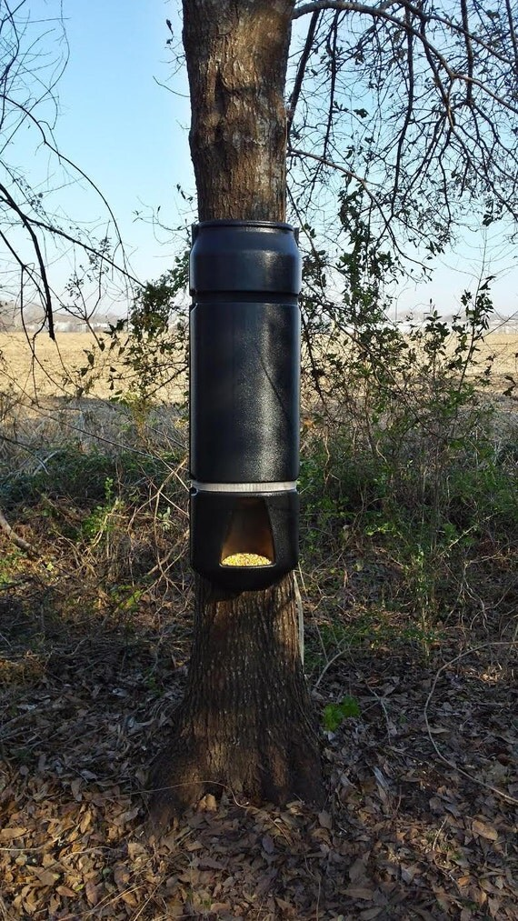 Deer Pig Out XXL Gravity Feeder Keeps The Hogs Out Also