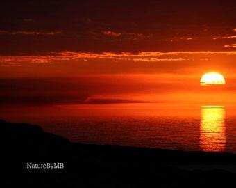 North Shore Minnesota Sunrise