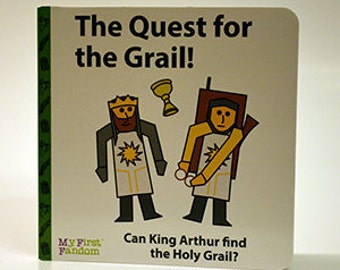 The Quest for the Grail! Monty Python Holy Grail, kids board book