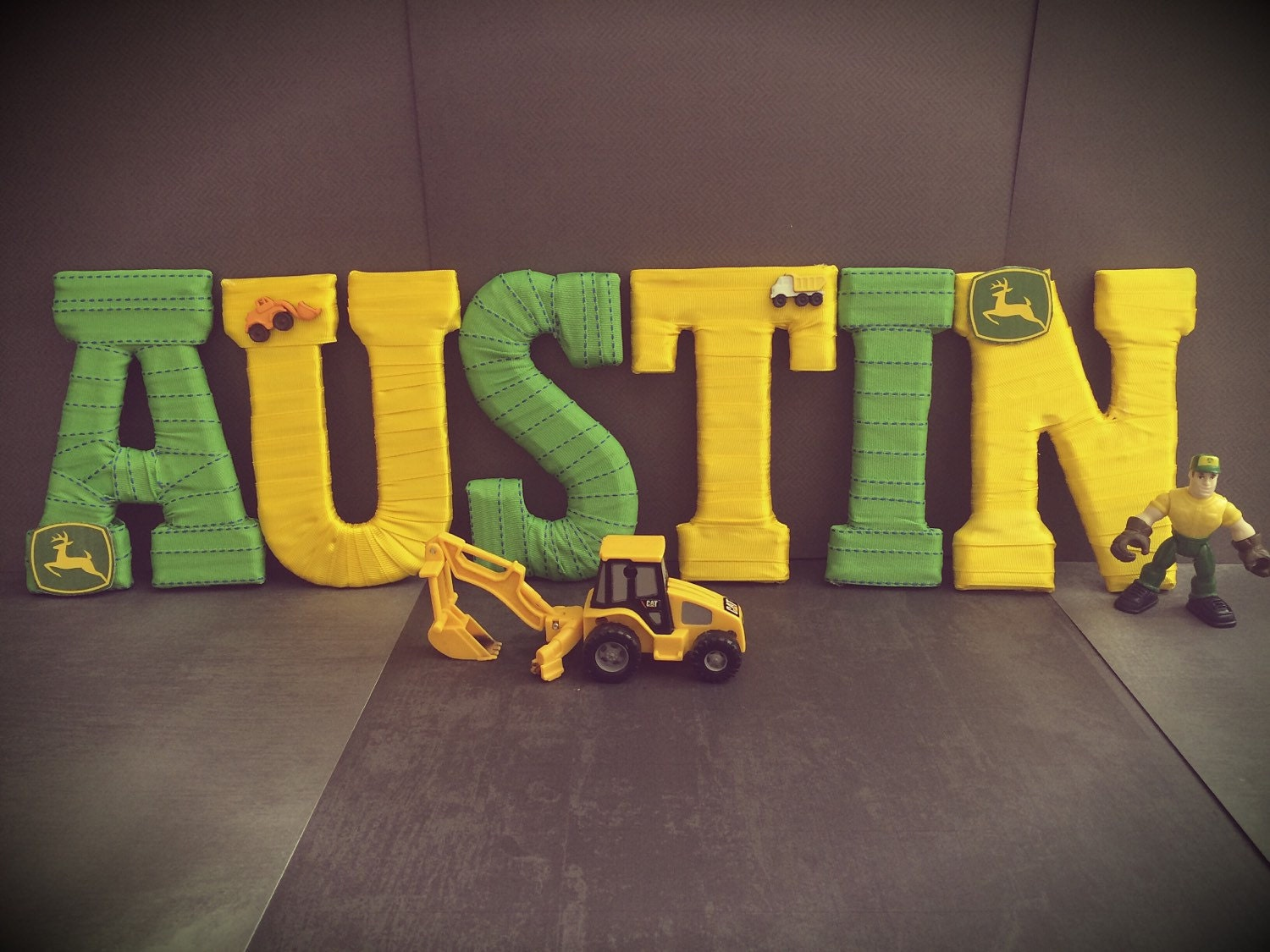 John Deere Decor Name Letters John Deere By