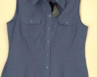 SecondSeason's Preloved Women's Shirt- Blue NWT