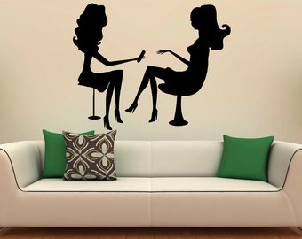Spa Wall Decal Etsy - Vinyl stickers design