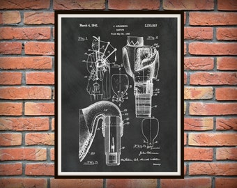 Patent 1941 Bagpipes - Art Print - Poster - Musical Instrument - School Music Room Art - Home - Scottish Wall Art - Bagpipe
