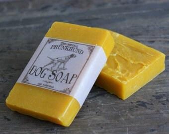 All natural Dog Soap - Original Prunkhund - handmade
