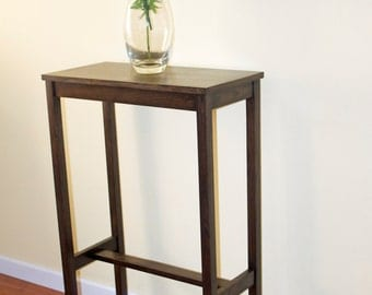 custom 40 tall entry table decorating design of a small nar