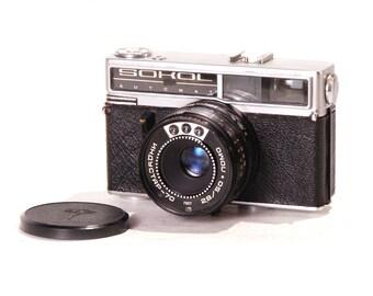 SOKOL Automat Central Shutter Rangefinder Camera LOMO Lomography USSR
