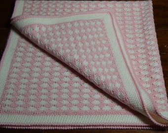 crochet shell stitch cover