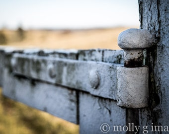 fence photography worn weathered 8x10 print 11x14 print 16x20 print