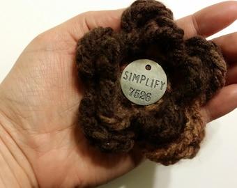 Simplify Crocheted Flower