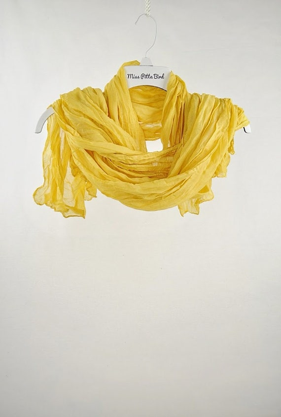 scarves yellow scarf large scarves lightweight by