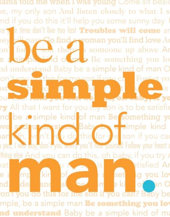 Simple Man Poster