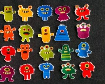 Monsters Under the Bed Felt Board Story // Flannel Board // Imagination // Children // Monsters //