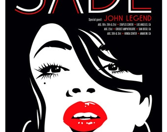 Sade with Special Guest John Legend - Print/Poster