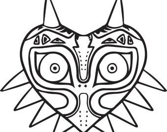 Majora's Mask Decal