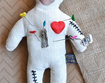 Personalized Voodoo Doll for LOVE! Custom from Your Photo. Voodoo Be Mine™