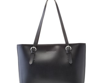 "Bag skin mod. Black ""Santa and Luján"" Lilly - handmade in Spain"