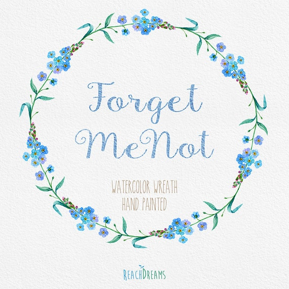 Forget Me Not Wedding Invitations as adorable invitations design