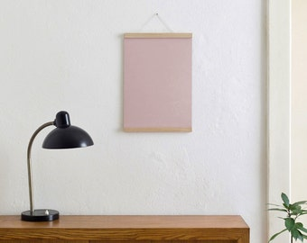 Magnetic poster bar / bar oak A3