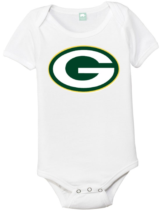 GREEN BAY PACKERS Baby Game Day esie by Hip esies on Etsy