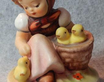 Hummel Figurine, Chick Girl, mold 57, TMK 6
