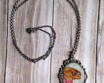 SALE- Mr. Toad Necklace
